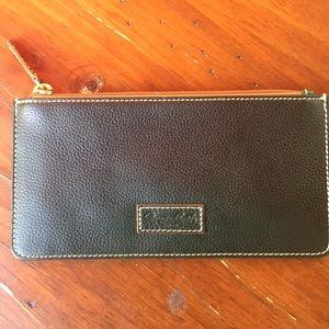 Dooney & Bourke green leather wallet NWT